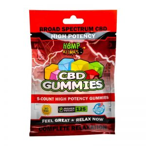 High Potency CBD Gummies 5-Count
